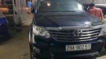 Cần bán Toyota Fortuner 2.7V 4x2 AT 2013, màu đen, số tự động