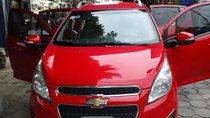 Lên đời xe nên cần bán Chevrolet Spark, số tự động, màu đỏ, sản xuất năm 2015