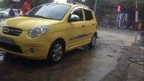 Cần bán lại xe Kia Morning đời 2010, màu vàng, số tự động