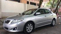 Cần bán gấp Toyota Corolla altis 2009, màu bạc số tự động