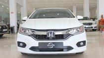 Cần bán Honda City CVT sản xuất năm 2017, màu trắng, giá 525tr