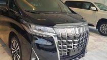 Cần bán Toyota Alphard đời 2019, màu đen, xe nhập
