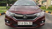 Bán Honda City 1.5CVT màu đỏ đô, số tự động, sản xuất 2018, biển Bình Dương, đi 12.000km
