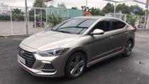 Bán Hyundai Elantra Sport 1.6Turbo màu vàng cát, số tự động, sản xuất 2018, biển tỉnh, đi 32000km