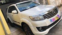 Bán Toyota Fortuner Sportivo 2014 tự động, trắng, xe zin đẹp lộng lẫy