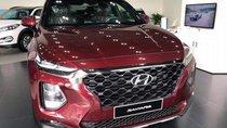 Bán Hyundai Santa Fe 2.2 đời 2019, màu đỏ