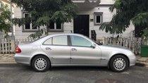 Bán Mercedes E240 sản xuất năm 2003, màu bạc, chạy ngon, sang trọng, chạy ít, 65.000Km