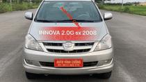 Bán Toyota Innova 2.0G đời 2008, màu bạc
