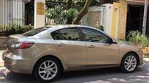 Có việc cần bán Mazda 3S 2014, màu ghi vàng