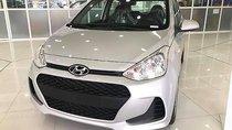 Bán xe Hyundai Grand i10 1.0 MT Base năm 2019, màu bạc, mới 100%