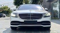 Cần bán xe Mercedes - Benz S450L 2018, màu trắng, siêu lướt LH 0945.39.2468