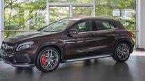 Bán Mercedes-benz GLA45 AMG 2018, màu nâu, nhập khẩu, đi 480km