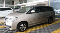 Cần bán Toyota Innova E 2.0MT đời 2015, màu nâu giá cạnh tranh