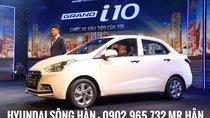 Hyundai Grand i10 2019, màu trắng - tặng 8 món phụ kiện - chỉ cần 120 triệu nhận xe, LH: 0902.965.732 Hữu hân