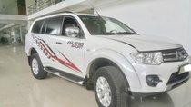 Hãng bán Pajero Sport 2.5MT 1 cầu máy dầu 2016, màu trắng, đúng chất, biển TP, giá TL, hỗ trợ góp