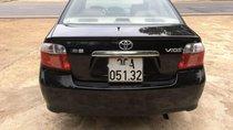 Bán lại xe Toyota Vios đời 2005, màu đen, giá chỉ 152 triệu