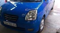 Bán ô tô Kia Morning sản xuất năm 2007, màu xanh lam, nhập khẩu số sàn