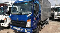 Cần bán xe tải 6 tấn đăng ký 2017, màu xanh lam xe CNHTC giá chỉ 190 triệu đồng