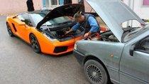 Lại thêm một siêu xe câu nhờ ắc-quy, lần này là bò già Lamborghini Gallardo