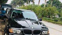 Bán ô tô BMW X5 đời 2005, màu đen, xe nhập, còn nguyên zin máy, số, ghế da còn mới