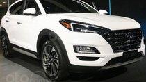 Xe Hyundai Tucson máy dầu sx 2019, màu trắng, xe sẵn