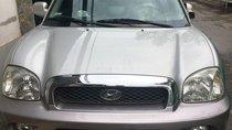 Bán Hyundai Santa Fe đời 2005, màu bạc, zin toàn bộ, CD 8 đĩa