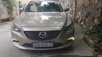 Bán Mazda 6 năm 2015, màu vàng cát, số tự động