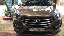 Bán xe Hyundai Santa Fe sản xuất năm 2017, màu nâu, chính chủ