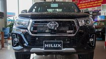 Bán Toyota Hilux 2.4 AT đời 2019, màu đen, nhập khẩu nguyên chiếc