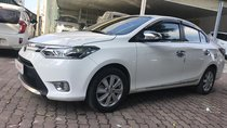 Bán Toyota Vios 1.5G 2017, màu trắng