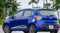 Bán ô tô Hyundai Grand i10 số tự động 2019, màu xanh, giá tốt