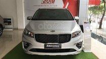 Bán xe Kia Sedona Luxury D đời 2019, màu bạc