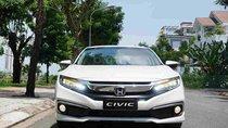 Bán xe Honda Civic G trắng 2019, Giá cực tốt, vay ngân hàng bao đậu, tặng tiền và phụ kiện khủng