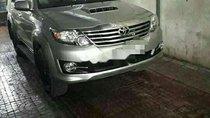 Bán Toyota Fortuner đời 2016, màu bạc