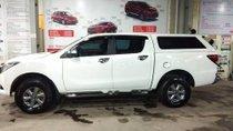 Bán Mazda BT 50 4x4 MT đời 2016, màu trắng, nhập khẩu Thái, số sàn