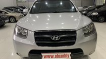 Cần bán xe Hyundai Santa Fe 2.2AT sản xuất 2008, màu bạc, nhập khẩu, giá 525tr