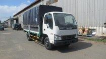 Bán xe tải Isuzu 2.4 tấn mui bạt dài 4m4 QKR270, hỗ trợ trả góp