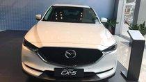 Nhanh tay sở hữu xe Mazda CX 5 Luxury 2019, màu trắng, 859 triệu. U đãi duy nhất tháng ngâu