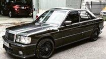 Bán ô tô Mercedes 190E sản xuất 1989, màu đen, xe nhập giá cạnh tranh