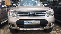 Bán Ford Everest 2.5L số tự động, năm sản xuất 2014, màu ghi vàng giá cạnh tranh