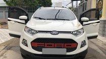 Bán gấp Ford Ecosport 2017 tự động màu trắng, full option
