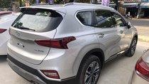 Bán Hyundai Santafe Premium máy dầu, màu bạc, xe giao ngay