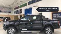 Bán xe Ford Ranger 2019, màu đen, nhập khẩu, nhiều quà tặng