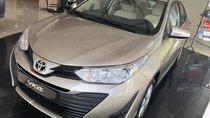 Bán Toyota Vios 1.5E CVT nâu vàng, hỗ trợ vay 85%, thanh toán 120tr nhận ngay xe