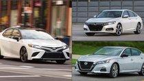 Doanh số sedan hạng D 6 tháng đầu năm tại Hoa Kỳ: Toyota Camry thống trị