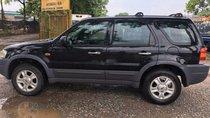 Cần bán lại xe Ford Escape 2.0 MT sản xuất 2003, màu đen