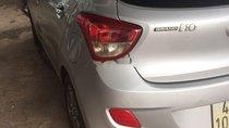 Cần bán gấp Hyundai Grand i10 đời 2015, màu bạc chính chủ