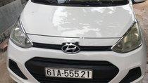 Bán lại xe Hyundai Grand i10 đời 2014, màu trắng, nhập khẩu