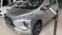 Bán xe Mitsubishi Xpander số tự động màu bạc, xe có sẵn, giao ngay. LH: 0911.82.1513