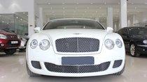 Bán xe Bentley Continental GT Speed 6.0L model 2010, màu trắng, nhập khẩu